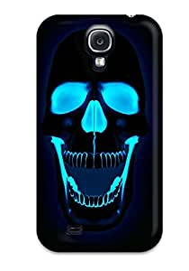 Fashion Protective Skull Case Cover For Galaxy S4