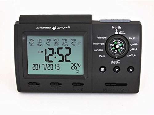 Azan Adhan Clock Islamic Muslim Prayer LCD Digital Clock Ideal Islamic Gift