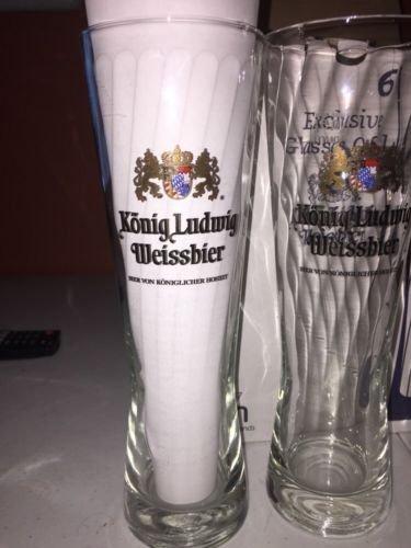 Konig Ludwig Weissbier 0 5l Tall Glass Kaltenberg Germany