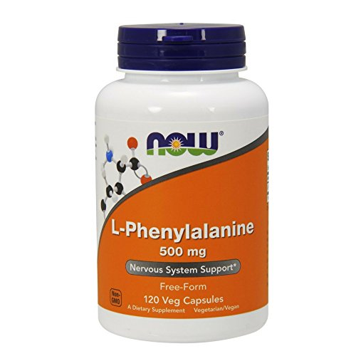 NOW L Phenylalanine 500 120 Capsules