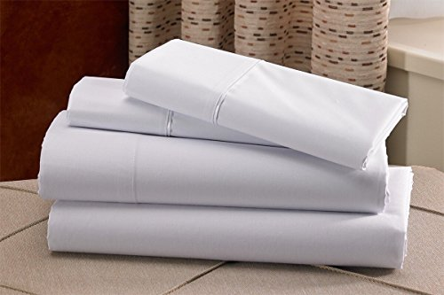 Hilton Hampton Inn Hotel Exclusive White Sheets Set  Queen Size   Hotel Collection Soap Bar   More