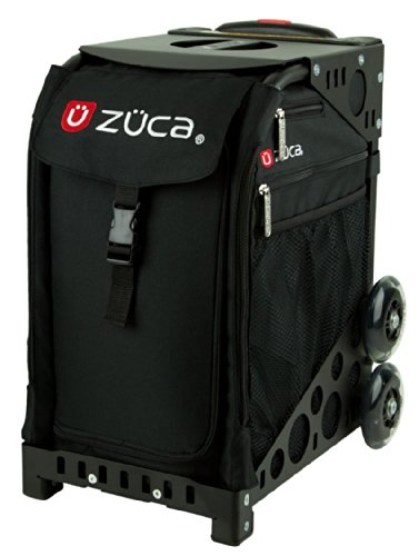 Photo ZUCA Bag Obsidian Insert & Black Frame w/ Non-Flashing Wheels