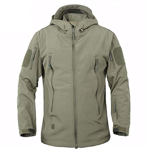 - Winter Military Windproof Tactical Jacket Men Waterproof Army Soft Shell Windbreaker Coat