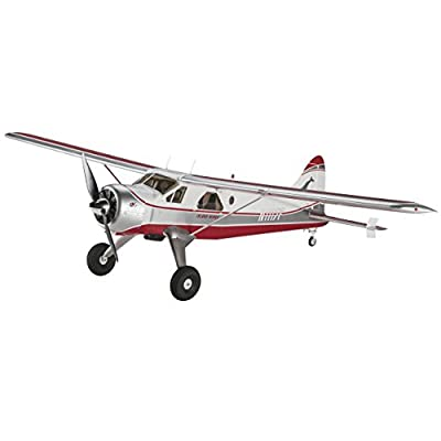 "Flyzone Island Wings DHC-2 Beaver Select Scale Receiver Ready (Rx-R) 59.5"" Radio Control (RC) Airplane"