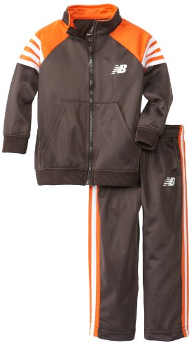 UPC 885381394210, New Balance Little Boys' 2 Piece Jacket and Pant Sport Set, Charcoal, 4T