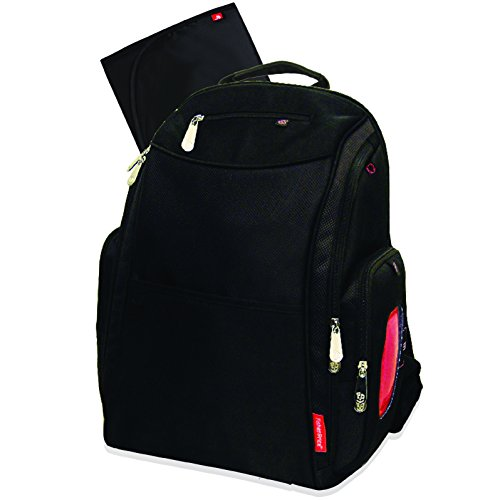 Fisher Price Backpack Diaper Bag - Dome Fastfinder Black