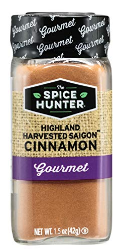 The Spice Hunter Highland Saigon Cinnamon, Ground, 1.5-Ounce Jar