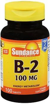 Sundance B-2 100 mg - 100 Tablets, Pack of 6 by Sundance