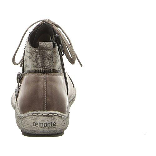 REMONTE DORNDORF - R1472 - BOTTILLON LACAGE - GRIS graphite ntq6Ao4U