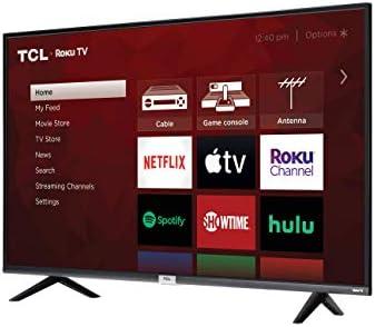 TCL 4K Smart LED TV, 43″ (43S435)