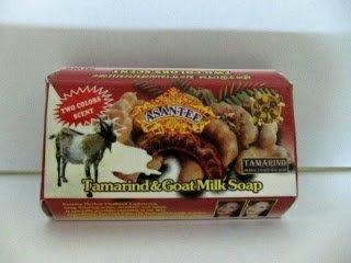 Asantee Herbal Tamarind & Goat Milk Soap Whitening Wrinkles and Ageing 125 g. (Pack of 6)