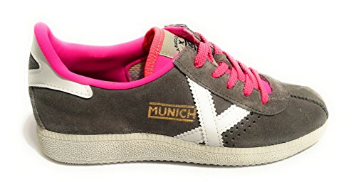 Gris Barru Zapatillas Unisex Adulto Munich wxvISOq1