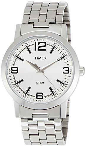 Timex Classics Analog Silver Dial Men's Watch – TI000T11200