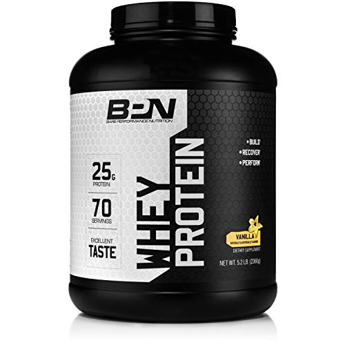 Bare Performance Nutrition, Vanilla Whey Protein Powder, Vanilla, 5 Pound Review