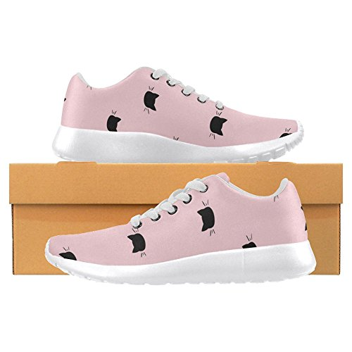 Mocassini Donna Interestprint Classico Canvas Casual Slip On Fashion Scarpe Sneakers Mary Jane Flat Multi 26