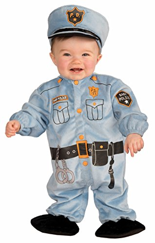Forum Novelties Baby Boy's I Wannabee Cop Infant Costume, Multi, Infant