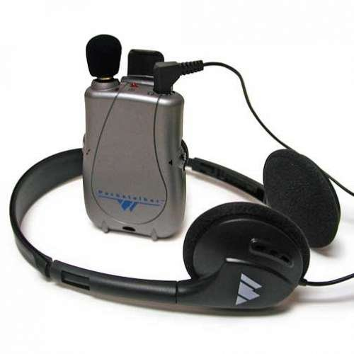 Pocketalker Ultra Personal Sound Amplifier with Deluxe Folding Headphone H21