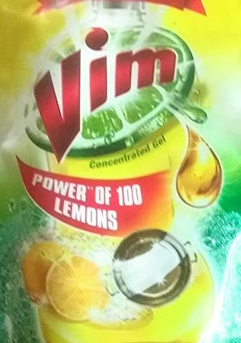 Vim Dishwash   115 ml  Lemon, Pack of 5
