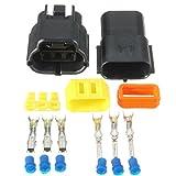 TOOGOO plastic Waterproof car Connectors Plug 3 Pin