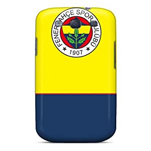 Rugged Skin Case Cover For Galaxy S3- Eco-friendly Packaging(fenerbahce)