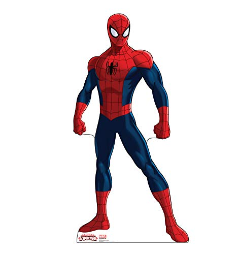 Advanced Graphics Spider-Man Life Size Cardboard Cutout Standup - Ultimate Spider-Man -