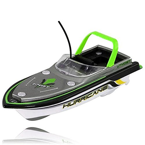 Hotkey® Radio RC Remote Control Super Mini Speed Boat Dual Motor Toy Green