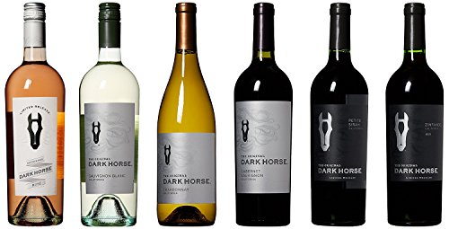 Dark Horse Wine Tasting Party Exploratory Mixed Pack, 6 x 750mL