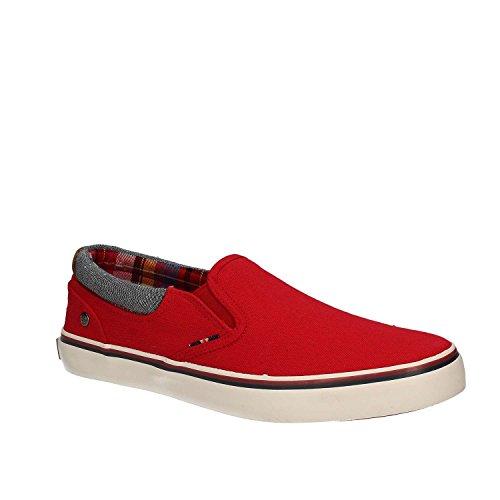 Wrangler WM171011 Slip-on Chaussures Homme Rouge gbXTT5