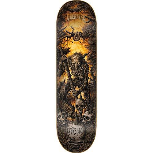 Haunted Deck - Creature Haunted Swamps Skateboard Deck -8.25 Everslick - Assembled AS Complete Skateboard