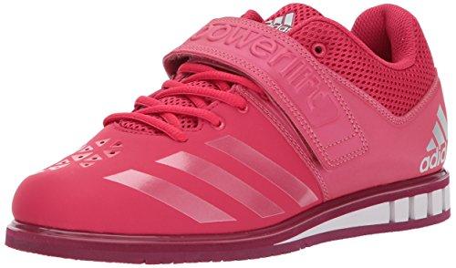 adidas Women's Powerlift.3.1 w Cross Trainer, Energy Pink/RUBMET/Mystery Ruby, 12.5 Medium US For Sale