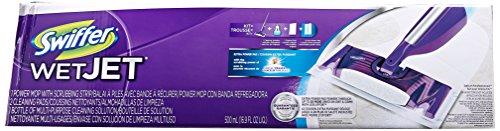 Swiffer WetJet Mop Starter Kit, 1 ct (Packaging may (House Cleaning Starter Kit)