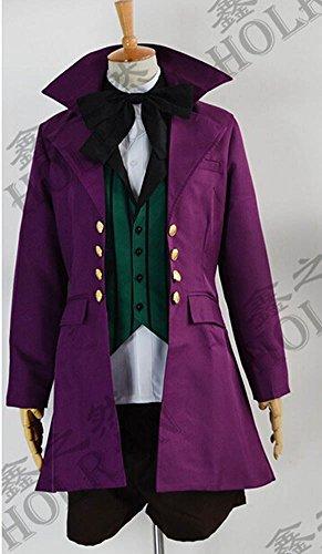 [HOLRAN Black Butler Ii 2 Alois Trancy Cosplay Costume Womens size Medium] (Black Butler Alois Costume)