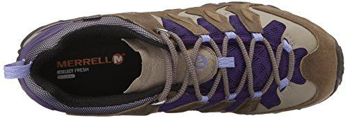 Merrell Donne Camaleonte Spostamento Ventilatore Escursioni Con Le Racchette Impermeabile Stucco / Viola