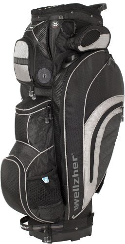 wellzher-blake-cart-bag-black-silver