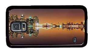 Hipster Samsung Galaxy S5 Case original cases New York City Lights PC Black for Samsung S5