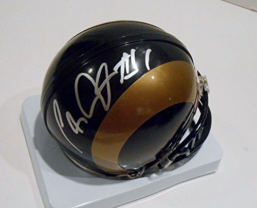 tavon-austin-signed-helmet-mini-jsa-authentic-n33291-autographed-nfl-mini-helmets