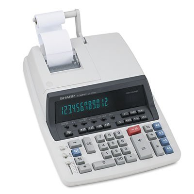 QS-2770H Two-Color Ribbon Printing Calculator, Black/Red Print, 4.8 Lines/Sec, Sold as 2 Each by Sharp