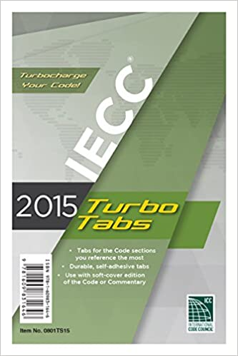 2015 International Energy Conservation Code Turbo Tabs 1st Edition