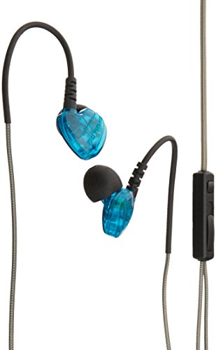 Rovking V5 In Ear Sweatproof Noise Isolating Universal Wired Sport Headphones with Remote, Mic and V