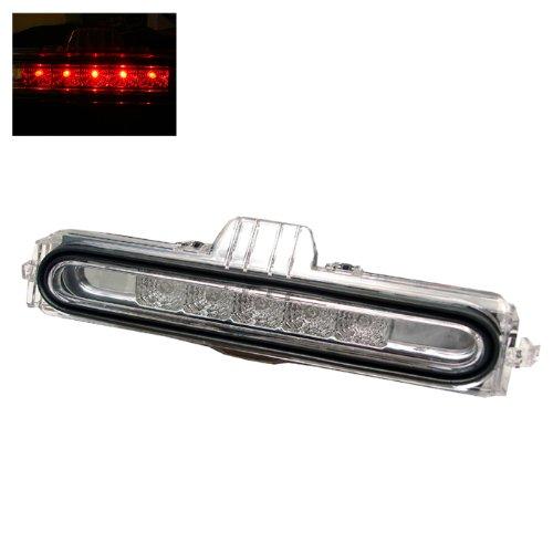 Spyder Auto BL-CL-ARSX02-LED-C Acura RSX Chrome LED Third Brake Light