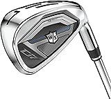 Wilson Staff Golf D7 Steel Iron Set, Men's Right Hand, Regular Flex 5-PW, GW