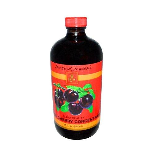 Bernard Jensen Black Cherry Concentrate Extra Quality, 16 Fluid -
