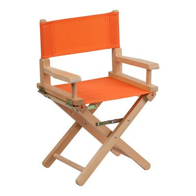 Kids Directors Chair Color: Orange