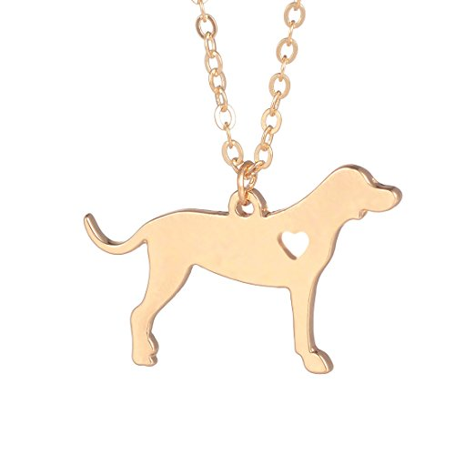 Coonhound Necklace Dog Pendant Jewelry Breed Pet Jewelry Memorial Gift Hunters Gift Dog lovers Gold - Dog Breed Coonhound