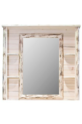 Montana Woodworks MWDDM Montana Collection Deluxe Dresser Mirror, Ready to Finish