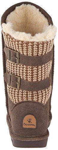 Boshie Bearpaw Chestnut Women's Distressed Winter Boot aB0zqB