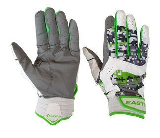 Easton Stealth Core Adult Batting Gloves - Digital Camo/Green - NEW by Easton
