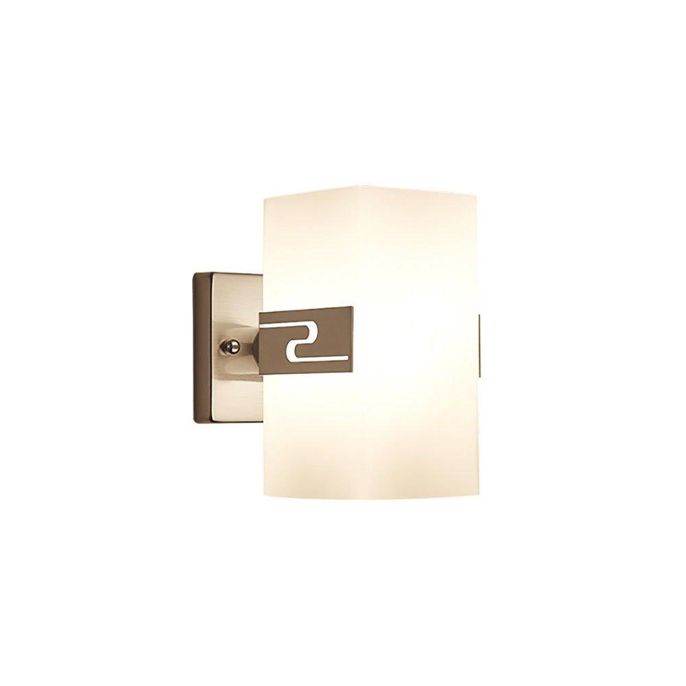 T-ZBDZ Nacht Schlafzimmer Wand Lampe Gang Wohnzimmer Spiegel Front Wandleuchte, Einzelkopf