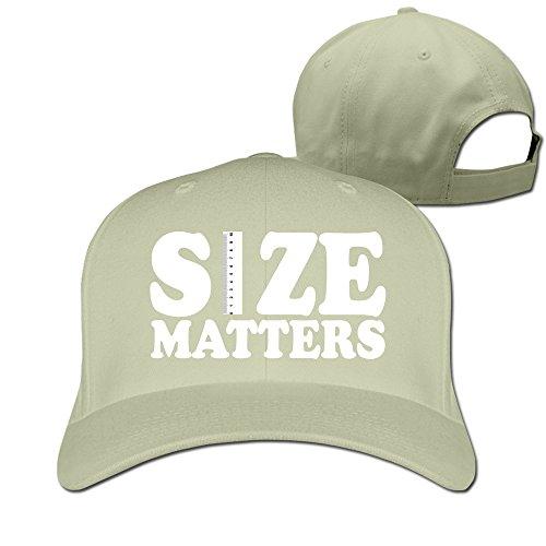 Runy Custom Size Matters Extender Rods Adjustable Hunting Peak Hat & Cap Natural
