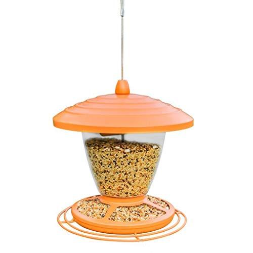 BLRYP Wild Bird Seed Feeder Garden Bird Feeder Hanging Wildbird Table Feeder, Wild Bird Wooden Seed Feeding Station Nut,Fat Ball,Cage,Garden